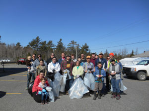 Card Brook Clean Up. Photo credit Aaron Dority.