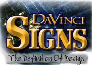 Da Vinci Signs