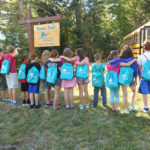 Fifth grade on the Simon Trail. Photo credit Iris Simon.