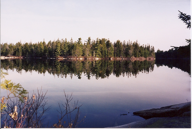 View of Long Pond from Long Ledges. Photo credit by Rick Beckjord.