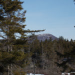 View of Schoodic Mountain from Long Ledges. Photo credit by Rick Beckjord.