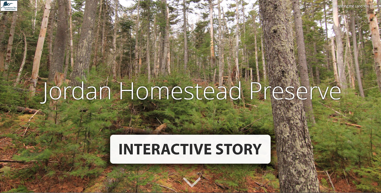 Jordan Homestead Preserve Story Map