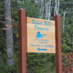 Baker Hill Sign. Photo Credit Jake Manning.