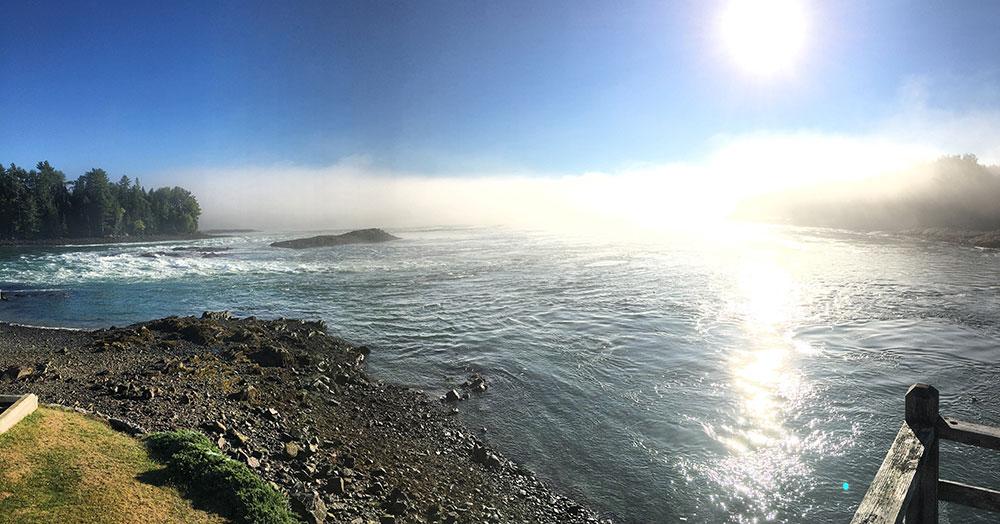 Tidal Falls. Photo credit Jake Manning.