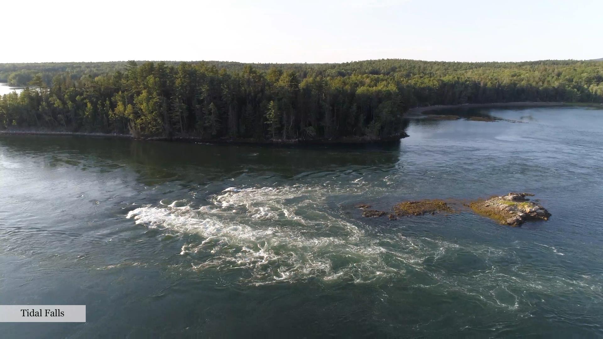 Tidal Falls Aerial