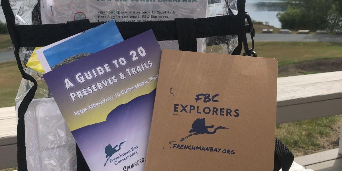 FBC Explorers Backpack: Pickup Saturday, June 26, 2021